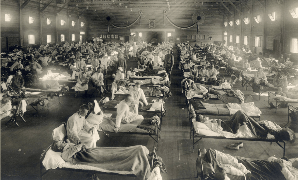 spanish flu canada